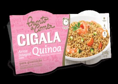 Pronto A Comer Cigala Integral Com Quinoa
