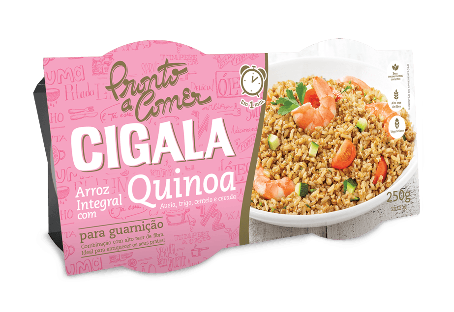Arroz Cigala Integral com Quinoa