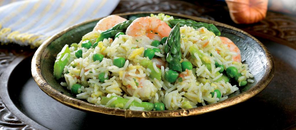 Salada de Arroz com Verduras da cigala