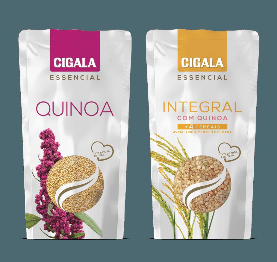 Quinoa / Integral com quinoa e 4 cereais