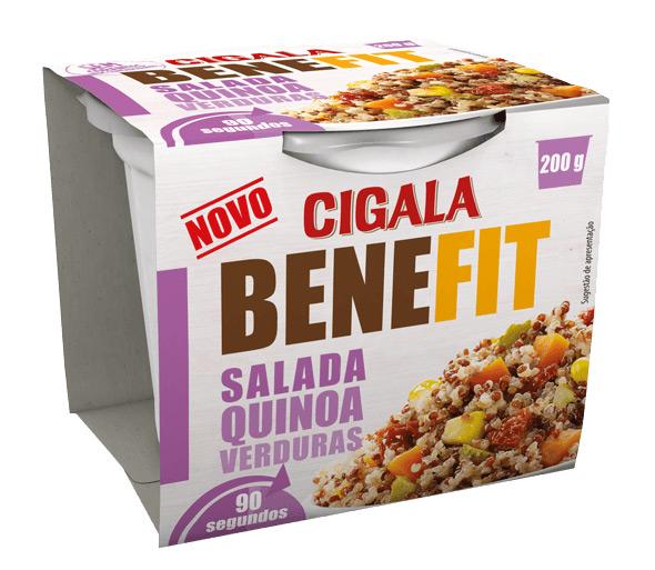 Salada Quinoa e Verduras