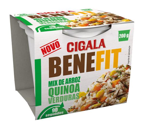 Mix de arroz, quinoa e verduras