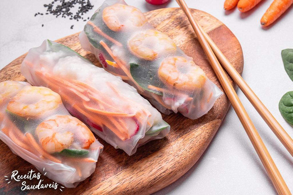 Rolinhos Vietnamitas