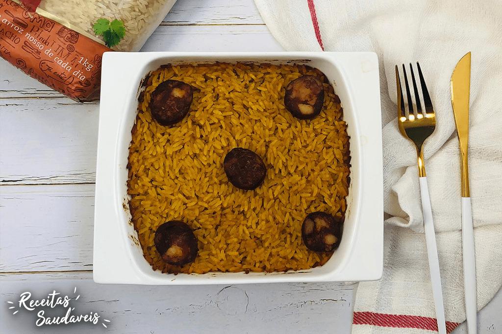 arroz de pato de receitas saudáveis cigala