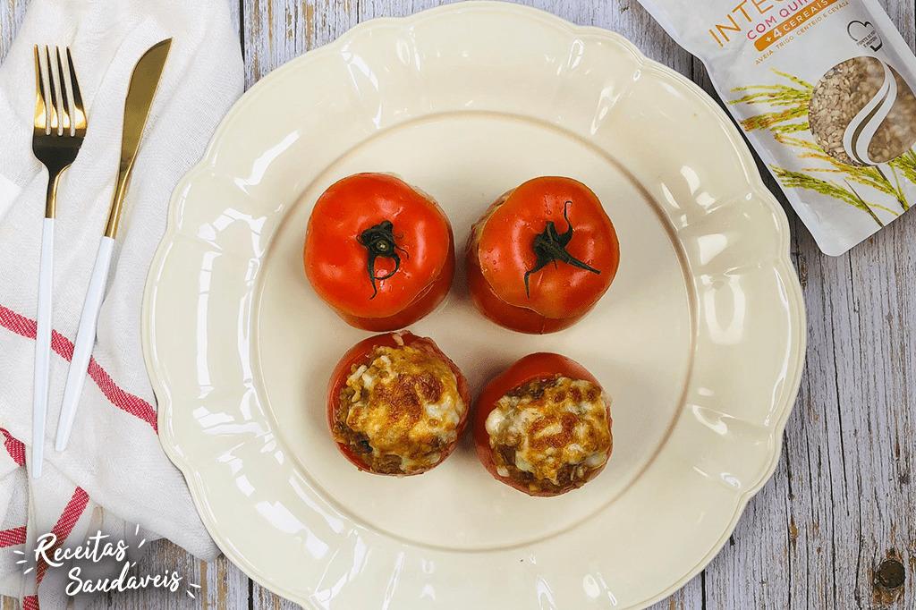tomates recheados com quinoa receitas saudáveis cigala