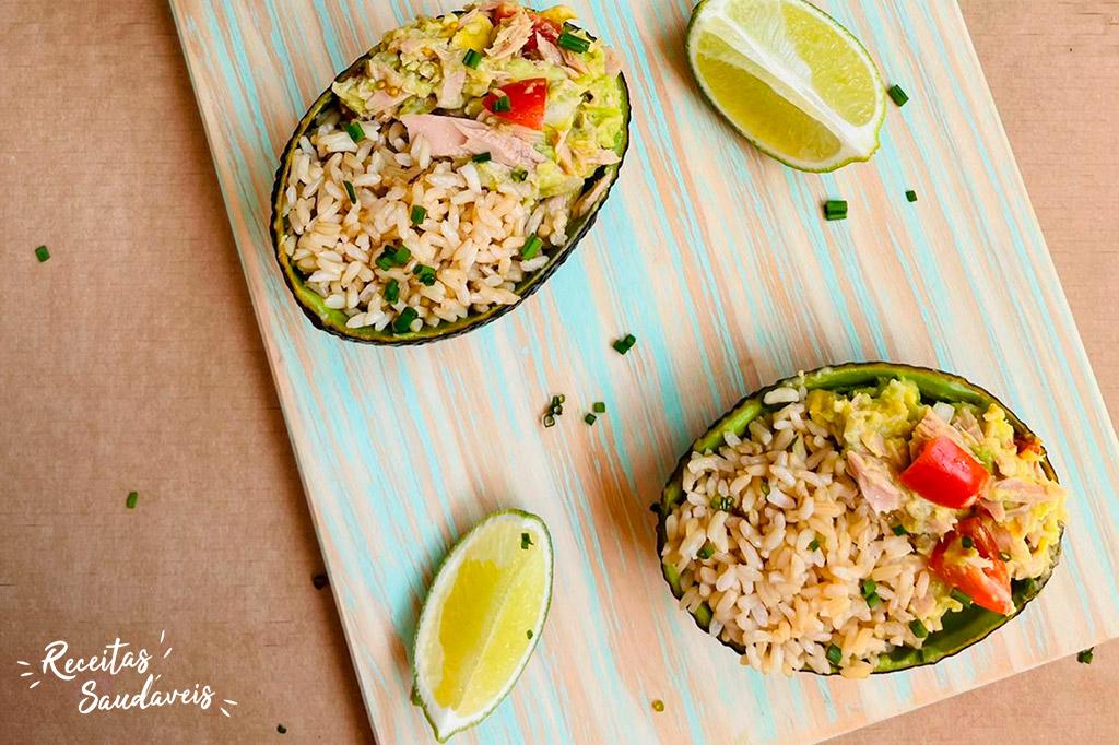 Salada Fria de Abacate